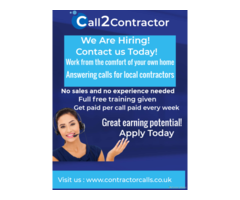 Looking for call center work from home employment?