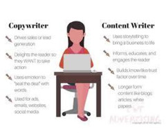 I will write blog posts, articles, essays and content writing